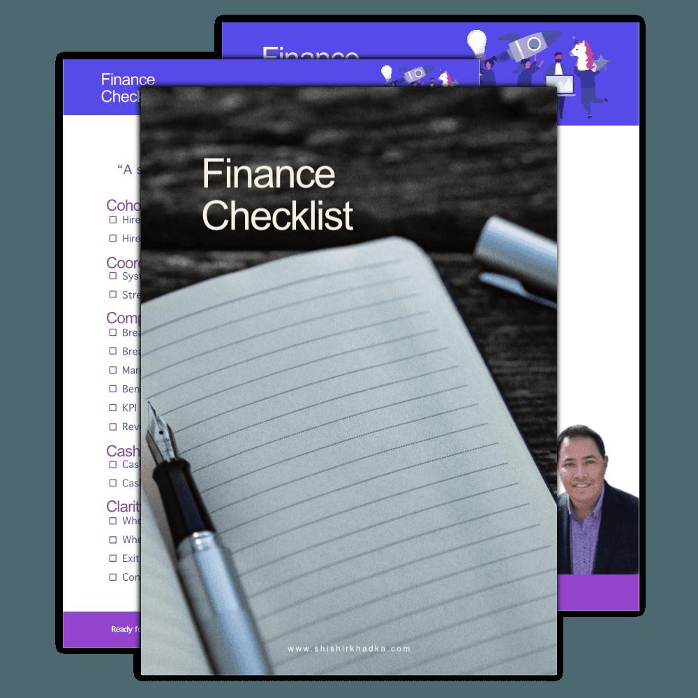 finance-checklist-shishir
