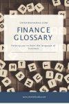 Finance Glossary - Shishir Khadka